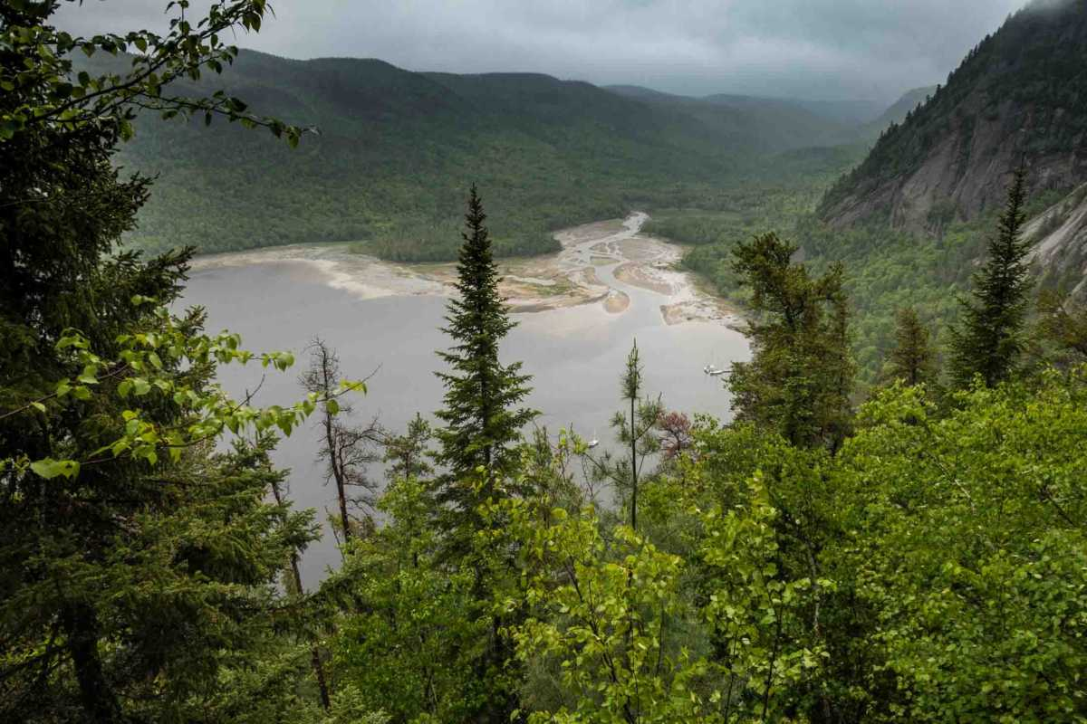 eternity bay saguenay fjord quebec