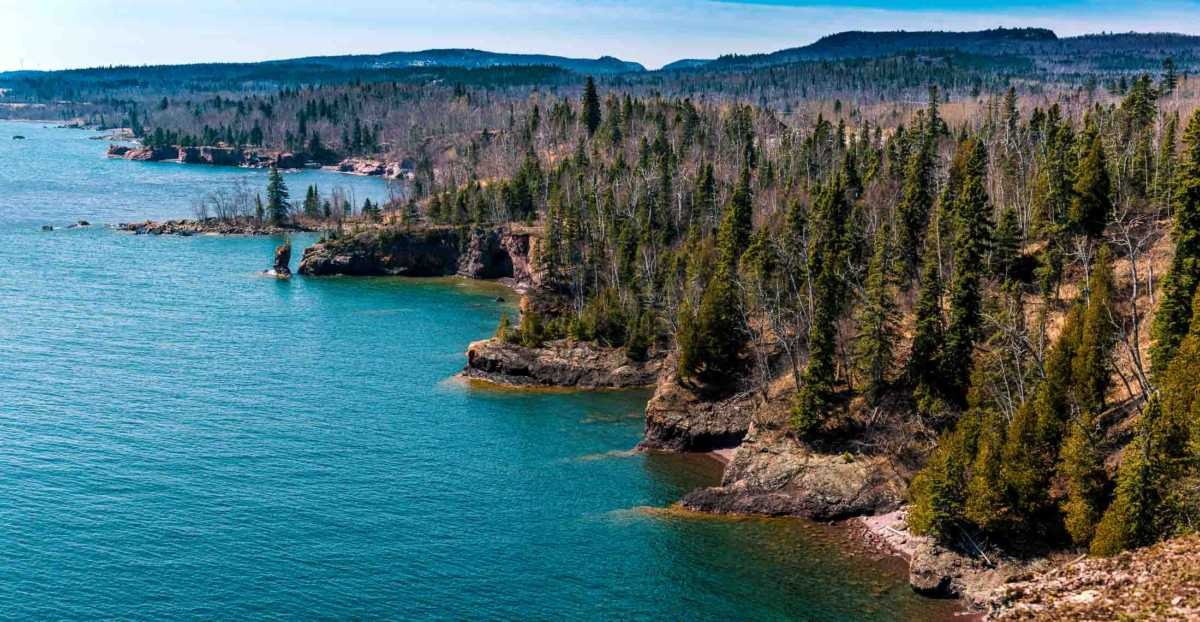 north shore lake superior