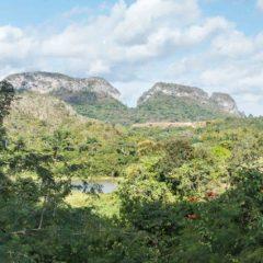 Karstic formations, limestone, Viñales, Cuba