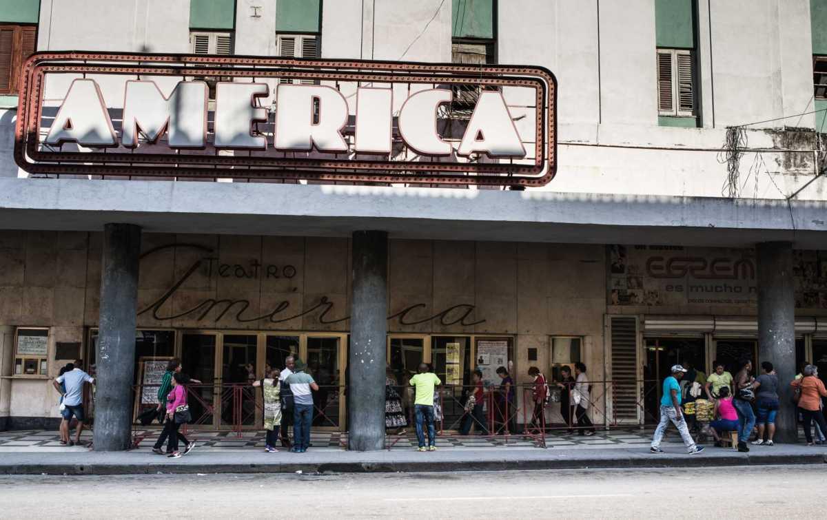 america theater havana
