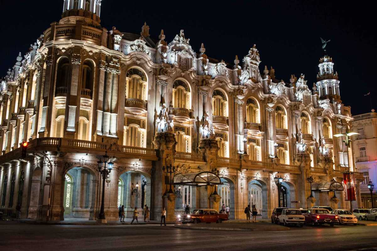 havana national theater night 2