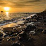 Sunset, Isla Floreana, Galapagos, Ecuador