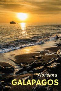 Sunset Floreana Galapagos