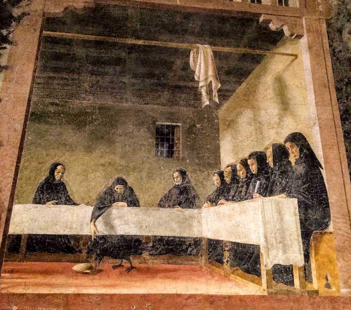 Florence Italy Fresco Churches