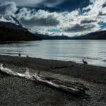 The Beagle Strait, Tierra del Fuego, Argentina