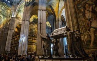 columbus tomb sevilla unesco world heritage