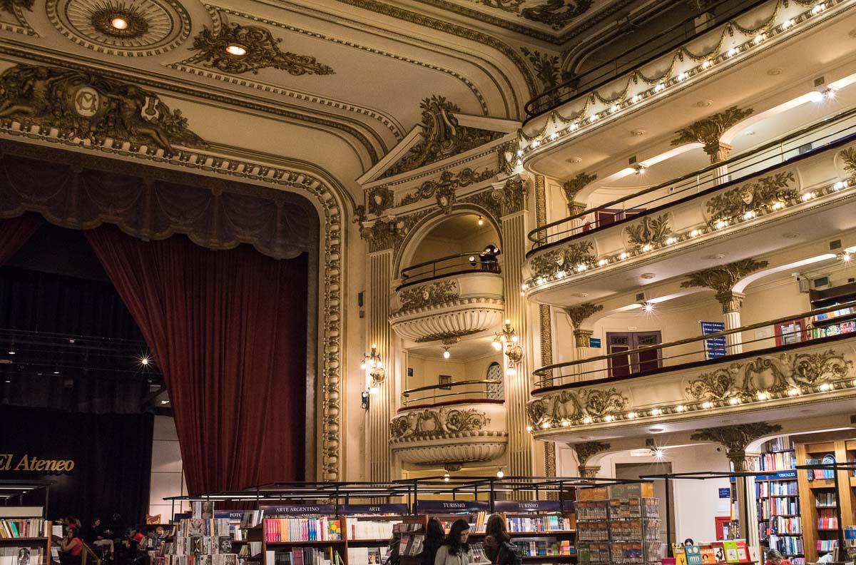 Argentina Buenos Aires El Ateneo bookstore