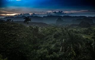 Cuba_Vinales valley sunset