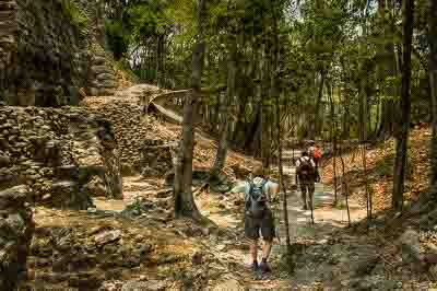 active travel hiking guatemala