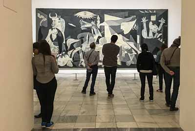 arts culture madrid guernica