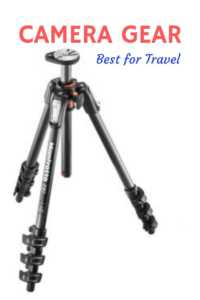 Best camera gear for travel