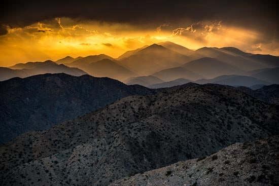 honors joshua tree sunset 2015-09-08