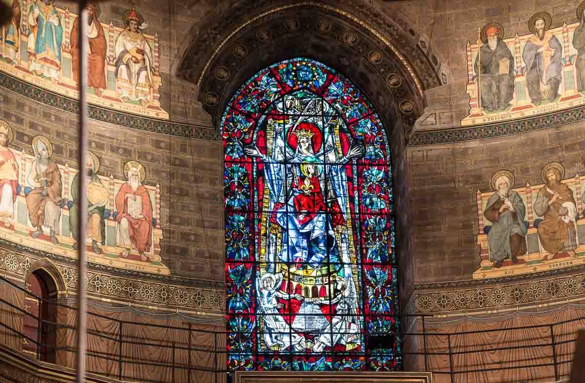 France_Strasbourg Cathedral altar window