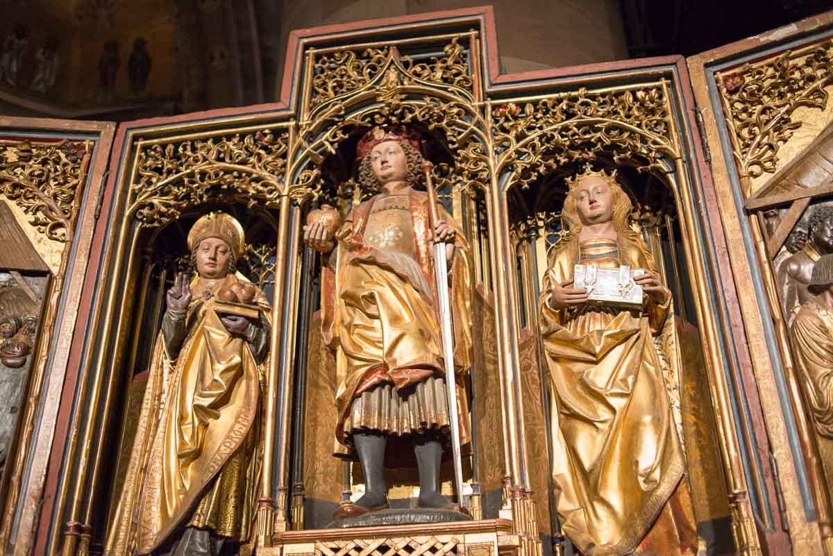 Strasbourg Cathedral altar