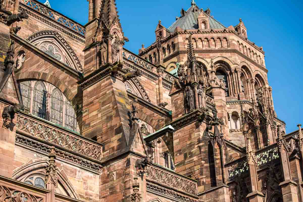 buttresses Strasbourg Cathedral