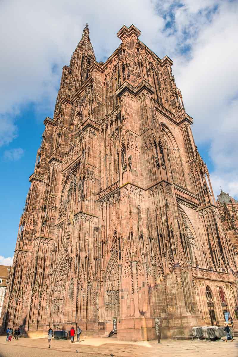 France_Strasbourg Cathedral exterior vertical