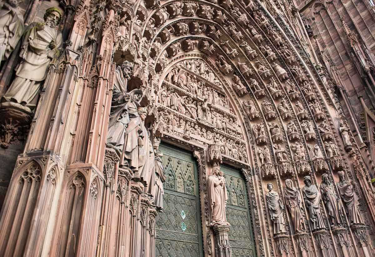 UNESCO world heritage site France Strasbourg Cathedral