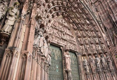 The Strasbourg Cathedral, France