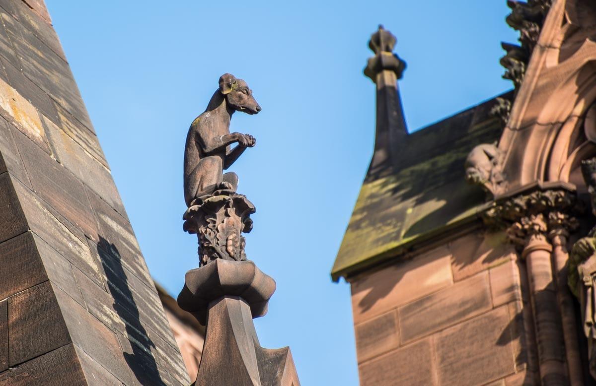 France_Strasbourg Cathedral gargoyle 3