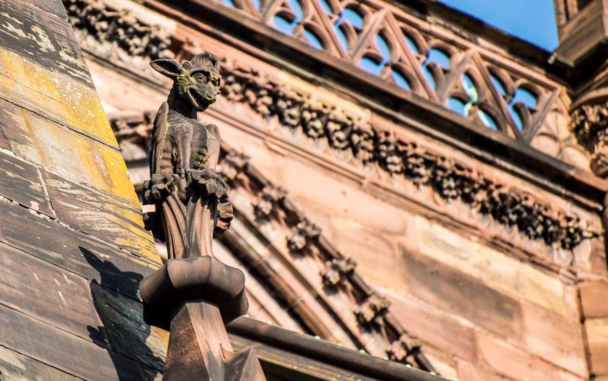 France_Strasbourg Cathedral gargoyle 4