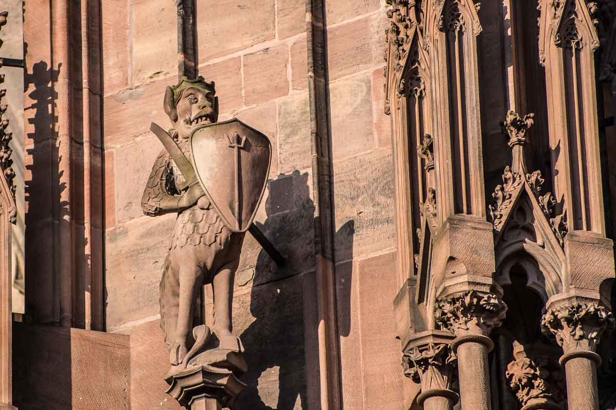 France_Strasbourg Cathedral gargoyle 6