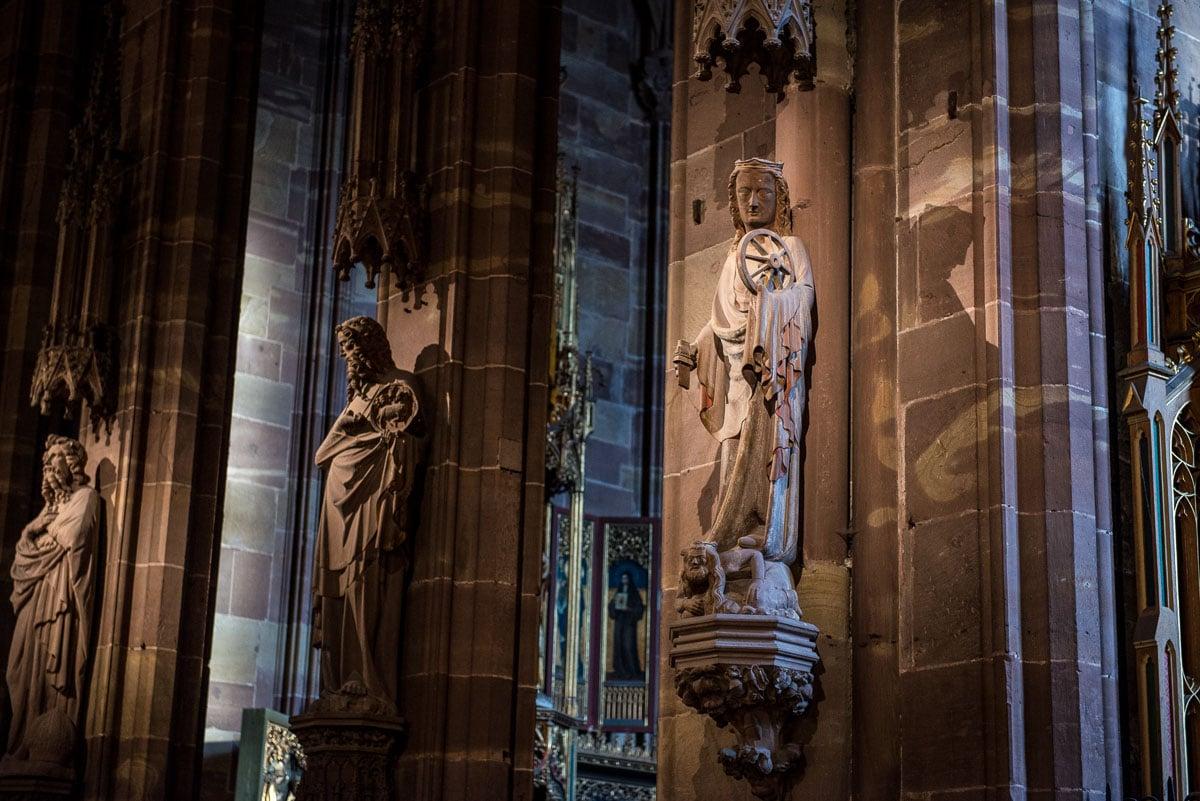 France_Strasbourg Cathedral saint catherine
