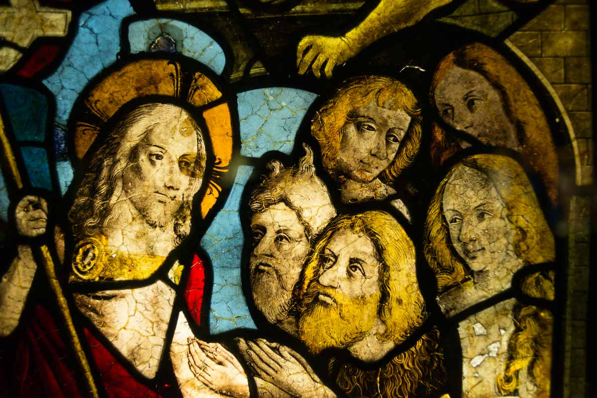 France_Strasbourg Cathedral window detail 2