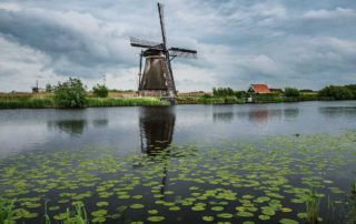 Netherlands_Kinderdijk windmill 1