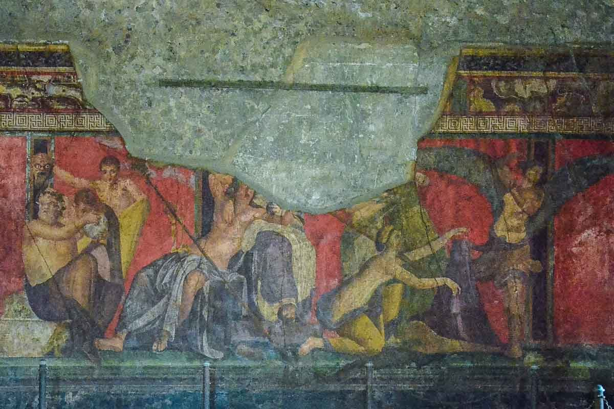 Italy pompeii herculaneum erotic art bacchus 2 & The Erotic Art of Pompeii and Herculaneum - Travel Past 50