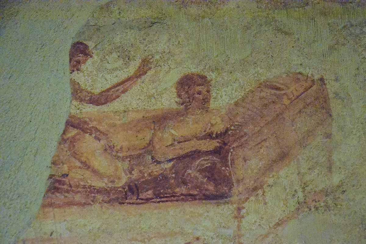 pompeii herculaneum erotic art brothel