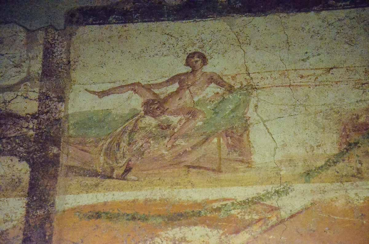 pompeii erotic art herculaneum suburban baths 1