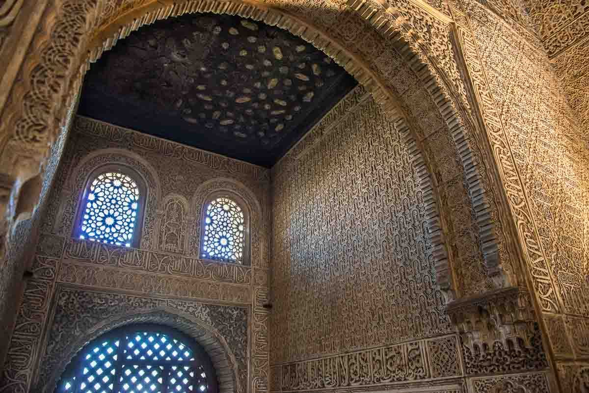 Spain Granada seven wonders alhambra decoration