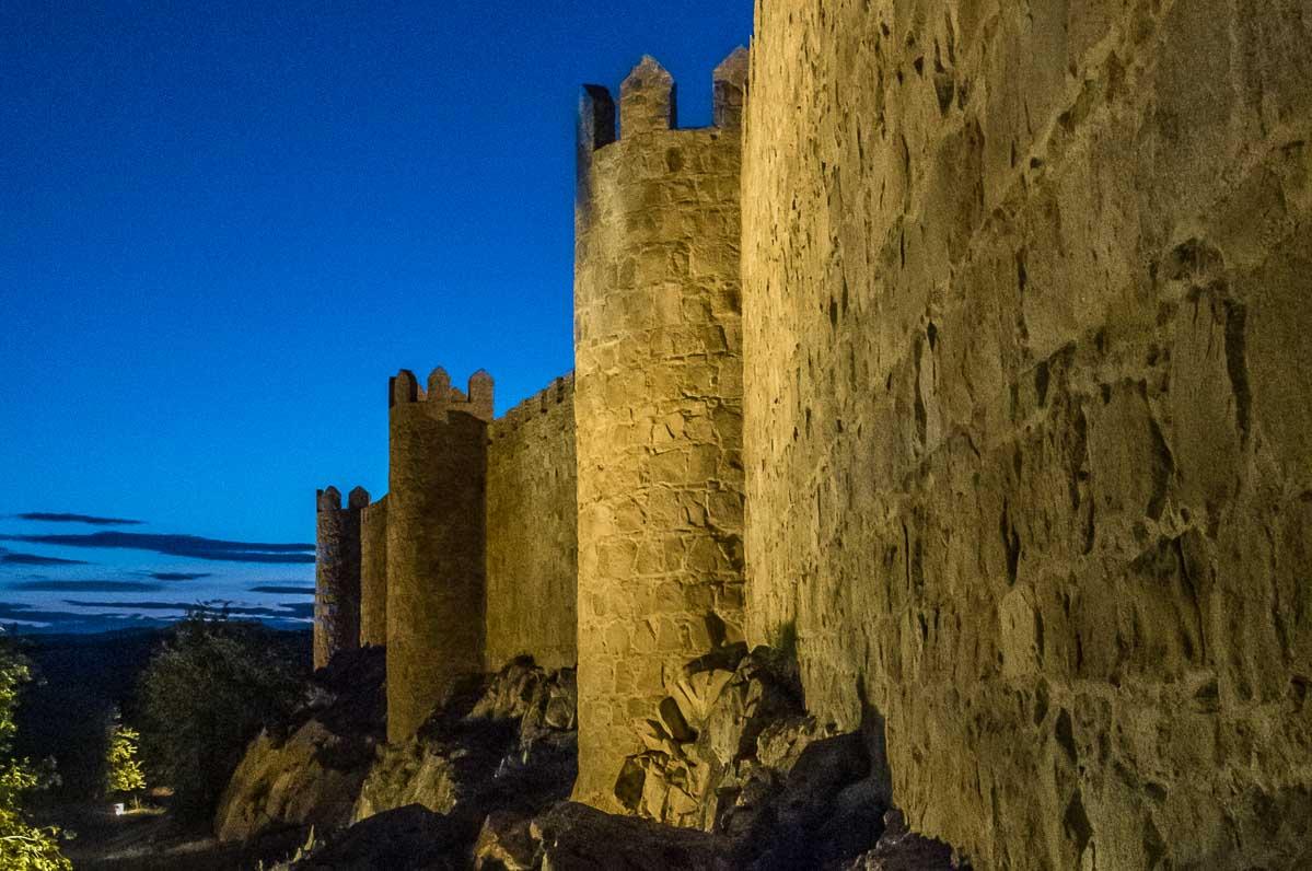 Spain avila outer walls