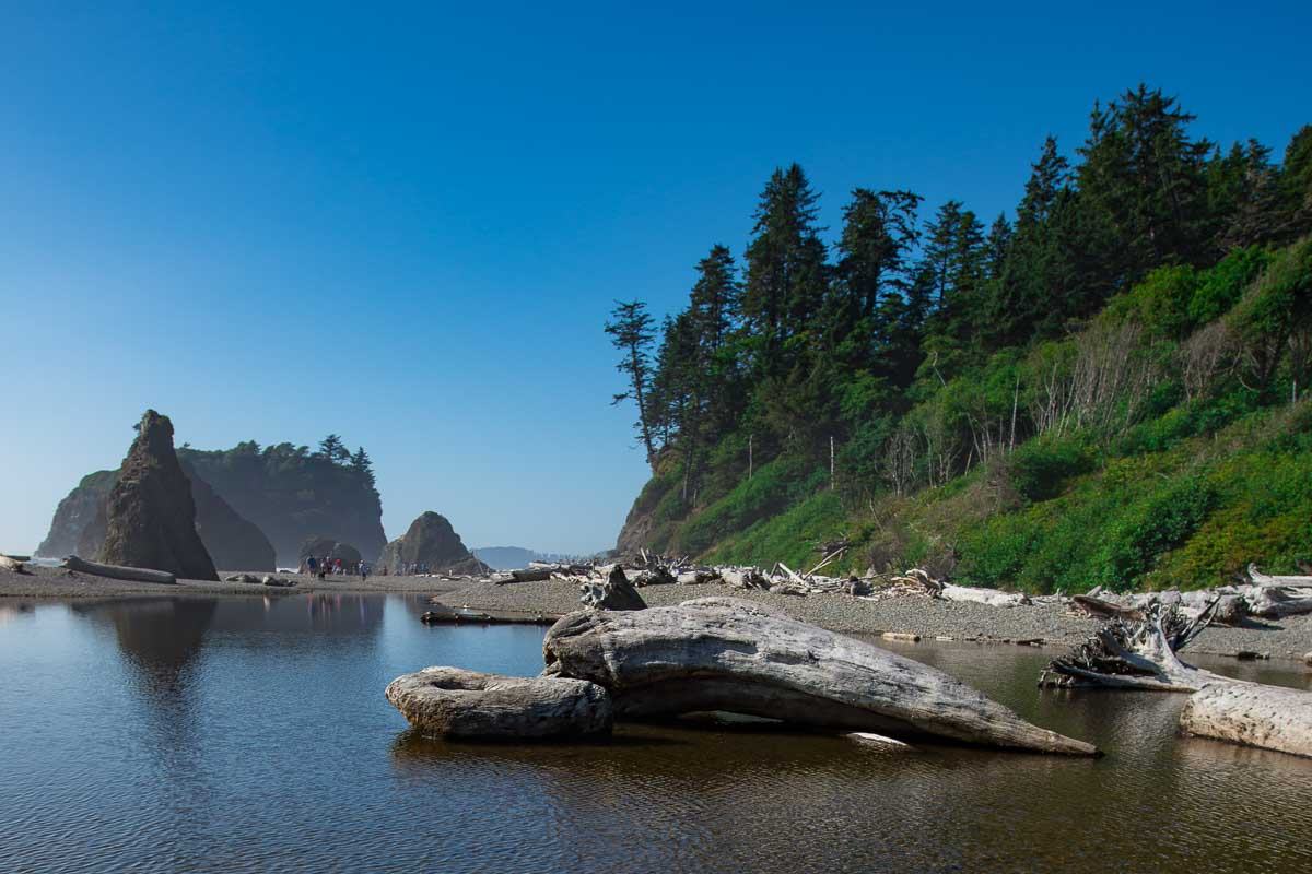 Olympic National Park Ruby Beach