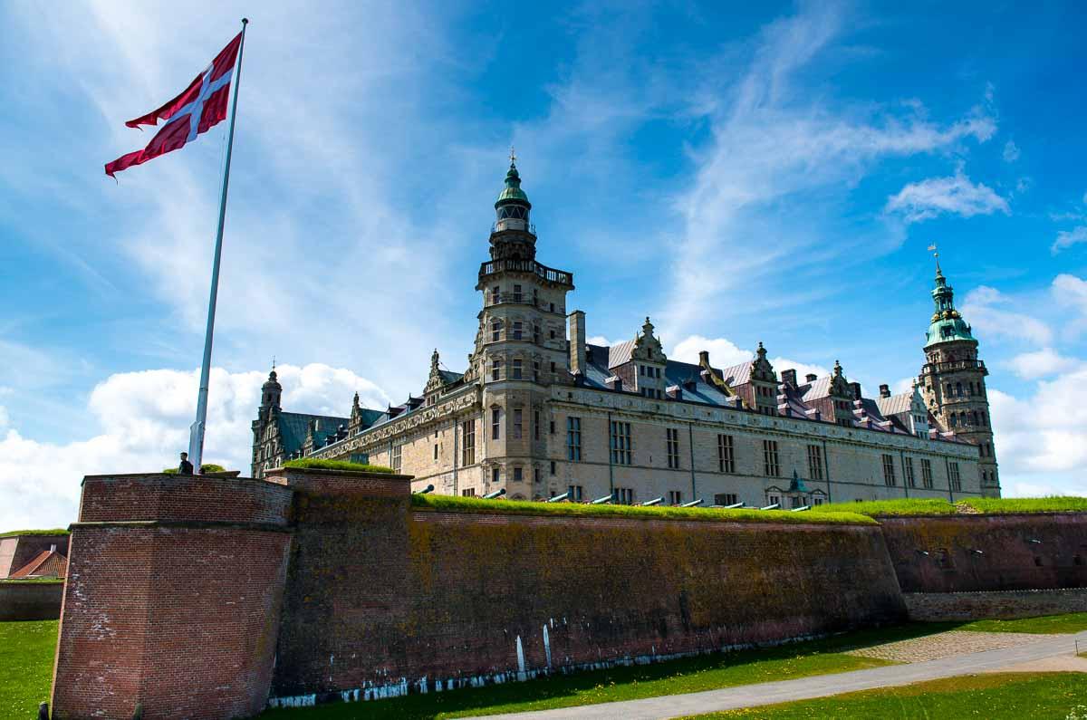 Denmark helsingor Castle Elsinore_