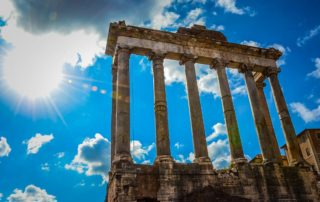 italy rome forum temple saturn