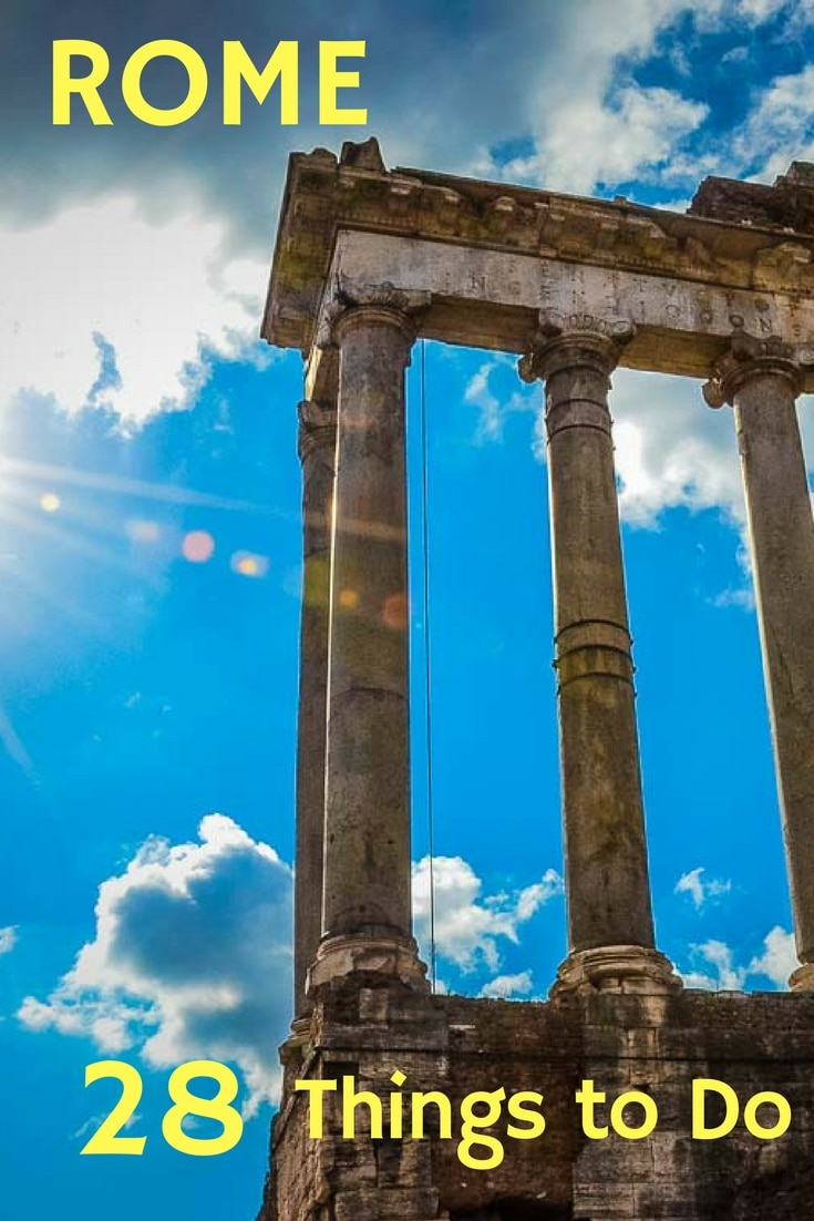 Our select list of best things to do and see in Rome, including the obvious and the obscure.  Take a tour of Rome with Travel Past 50. #Italy #Rome #TravelPast50 #seniortravel #travelphotography #TBIN #historytravel #arts #Culture #food #wine #Europe #CityTour #WalkingTour #UNESCO #WorldHeritageSite