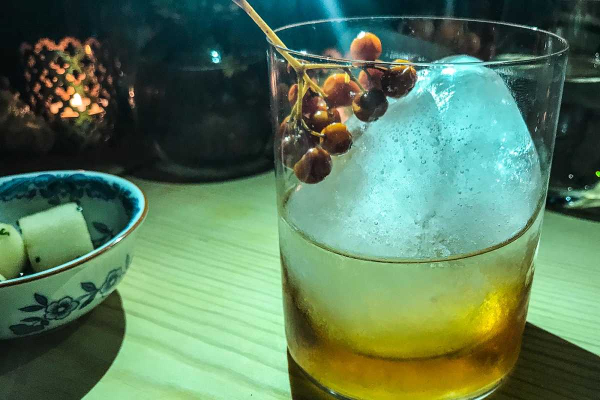 Sweden, Are, Uvisan Restaurant Cocktail
