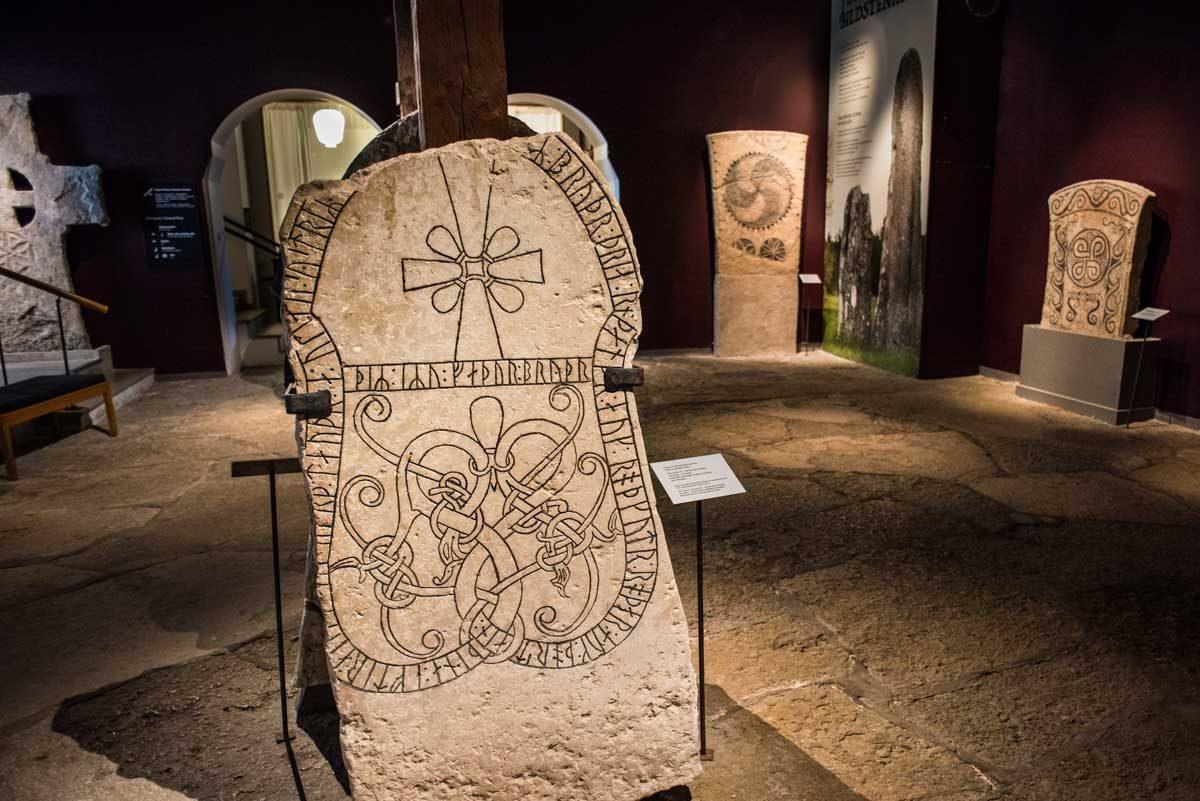 sweden visby gotland museum runestone 1