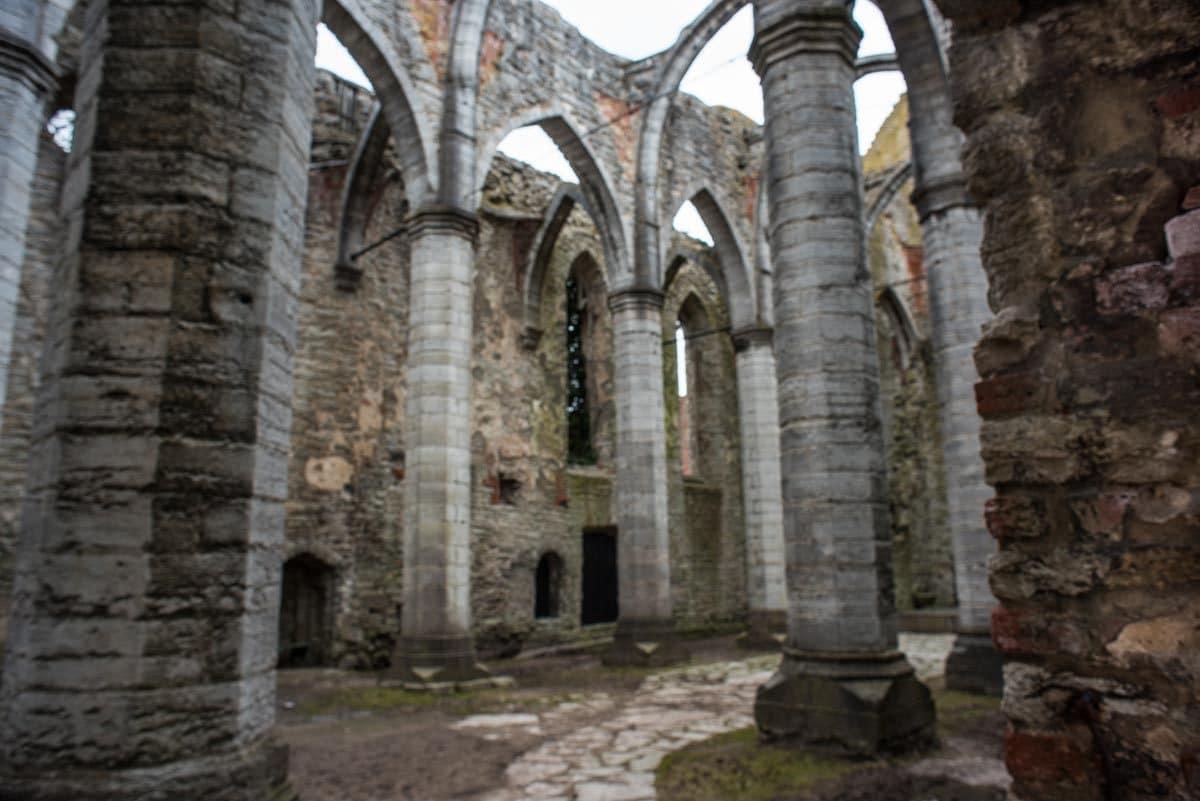 sweden visby st karin ruins