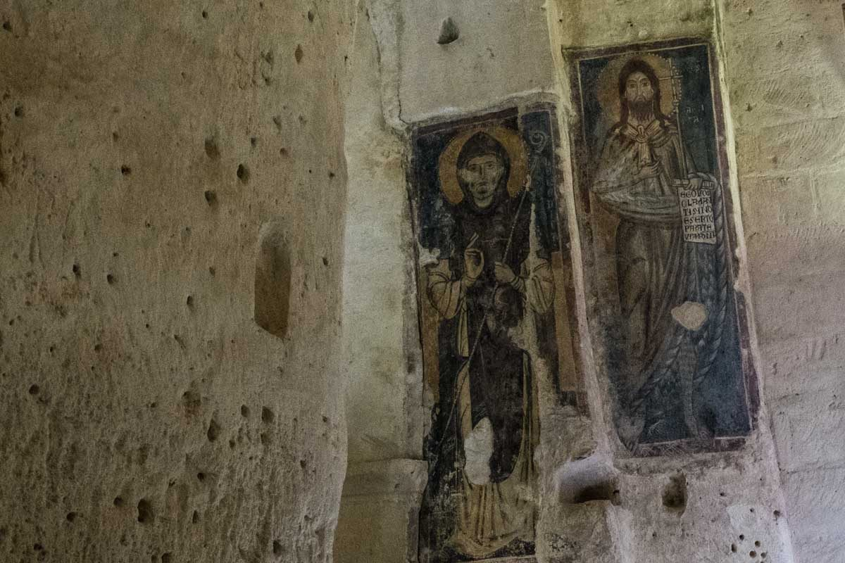 Italy Basilicata Matera cave church santa lucia alle malve 2