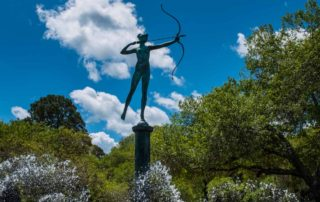 USA South Carolina Myrtle Beach Brookgreen sculpture garden Diana