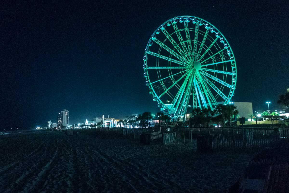 USA South Carolina Myrtle Beach ferris wheel