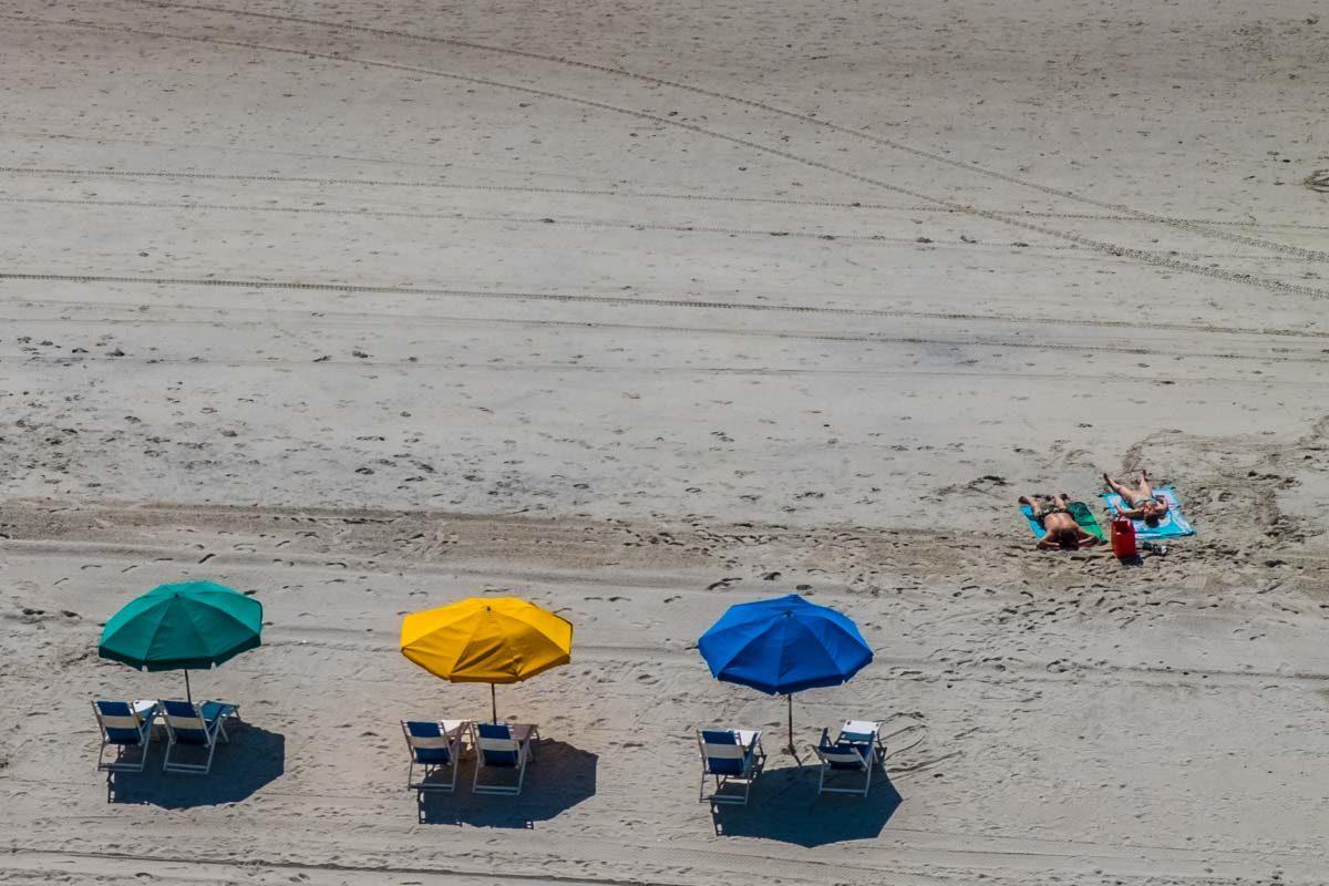 USA South Carolina Myrtle Beach umbrellas 1