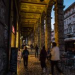 The Porticoes of Bologna, Italy