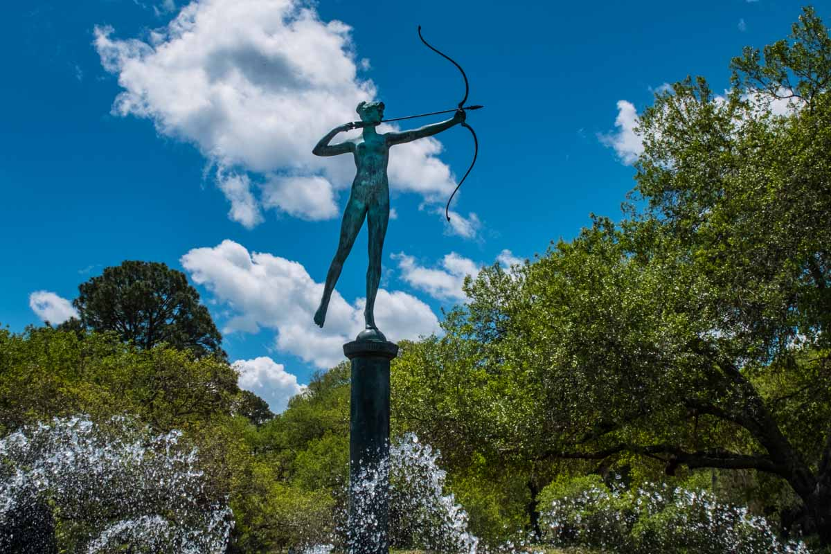 myrtle beach south carolina Brookgreen gardens diana