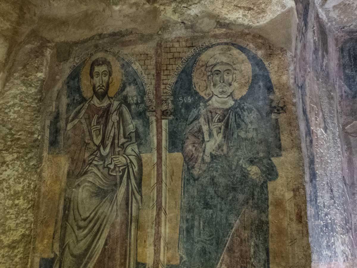 italy matera san giovanni fresco