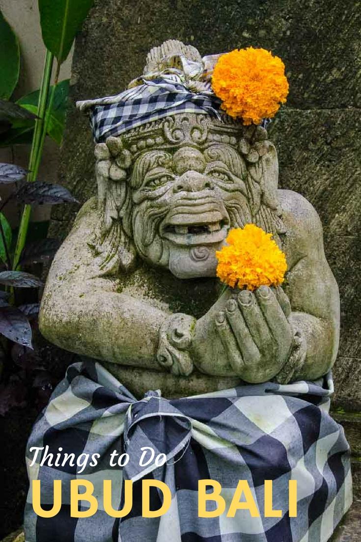 Travel tips on what to do in Ubud, Bali. #Bali #Ubud #Indonesia #TravelPast50 #seniortravel #travelphotography #TBIN