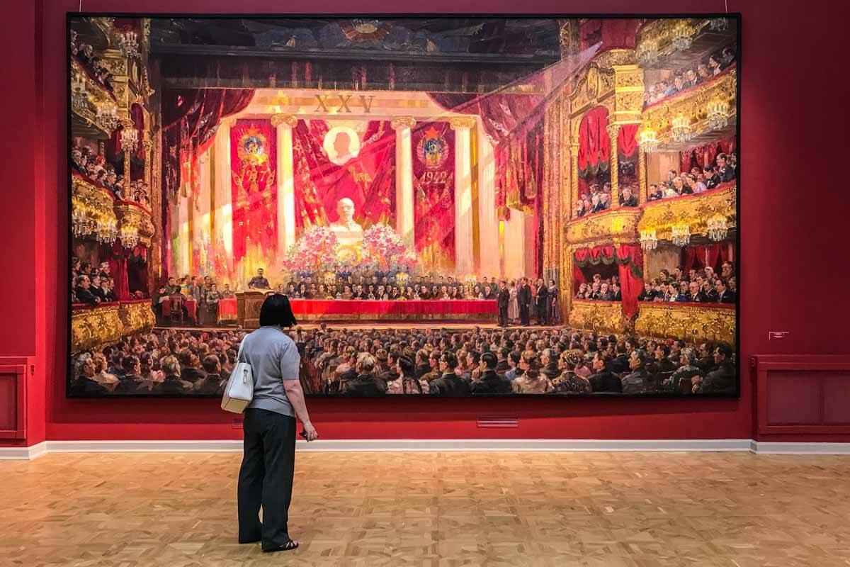 Russia state museum Saint Petersburg soviet art