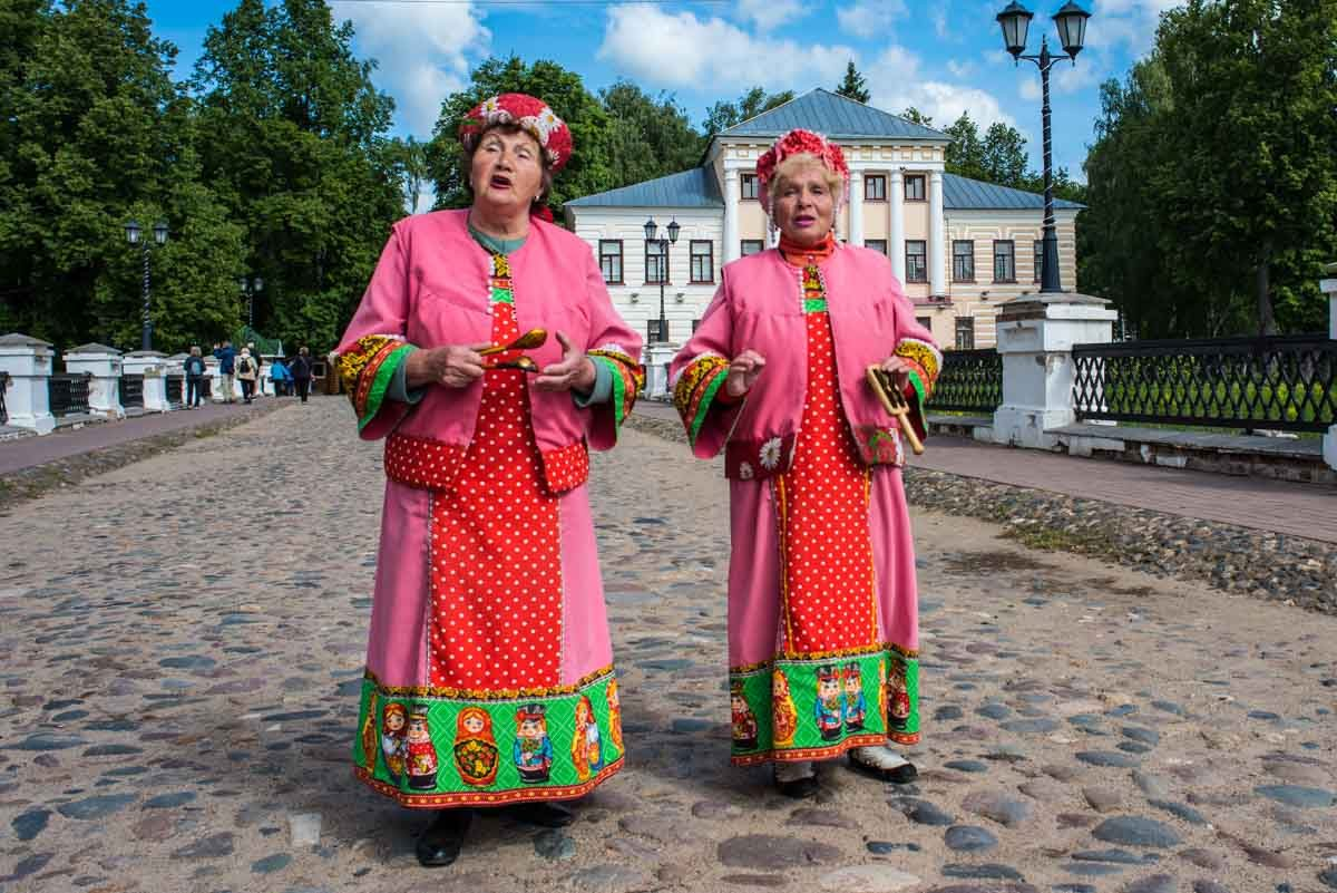 Russia river cruise uglich women singing